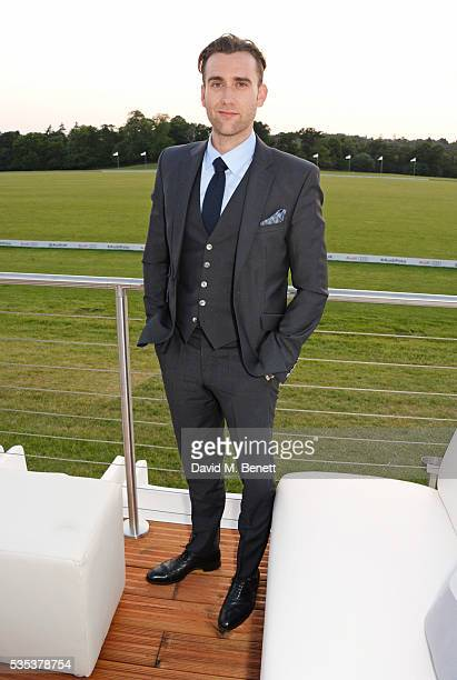 Matthew Lewis attends day two of the Audi Polo Challenge at Coworth Park on May 29 2016 in London England