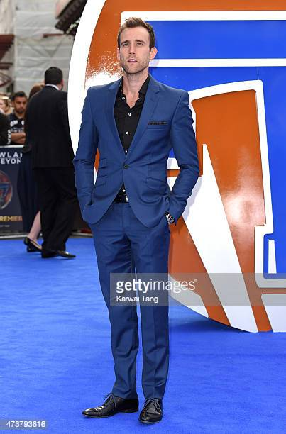 Matthew Lewis attends the European premiere of 'Tomorrowland A World Beyond' at Odeon Leicester Square on May 17 2015 in London England