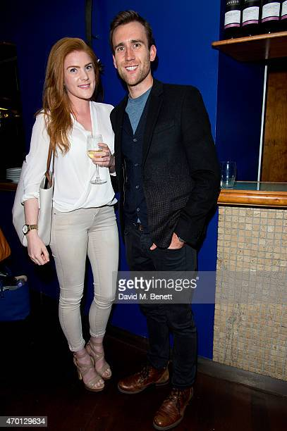 Matthew Lewis attends the press night performance of 'A Level Playing Field' at the Jermyn Street Theatre on April 17 2015 in London England