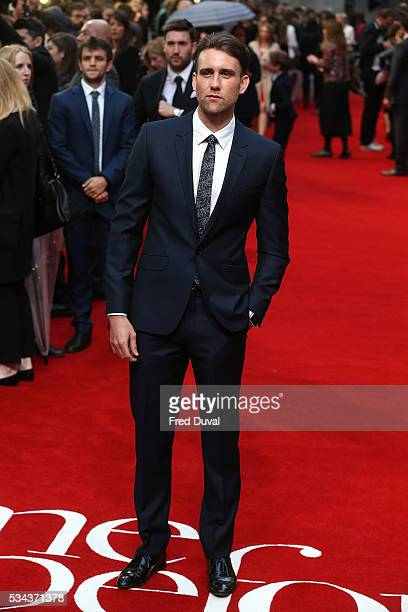 Matthew Lewis the European film premiere 'Me Before You' at The Curzon Mayfair on May 25 2016 in London England