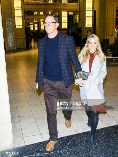 Matthew Lillard and Heather Helm are seen on December 09, 2019 in Los Angeles, California.