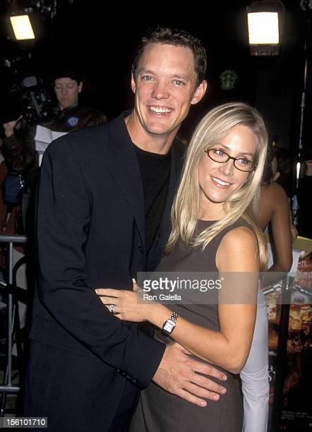 Matthew Lillard and Heather Helm during '13 Ghosts' Los Angeles Premiere at Mann Village Theatre in Westwood, California, United States.