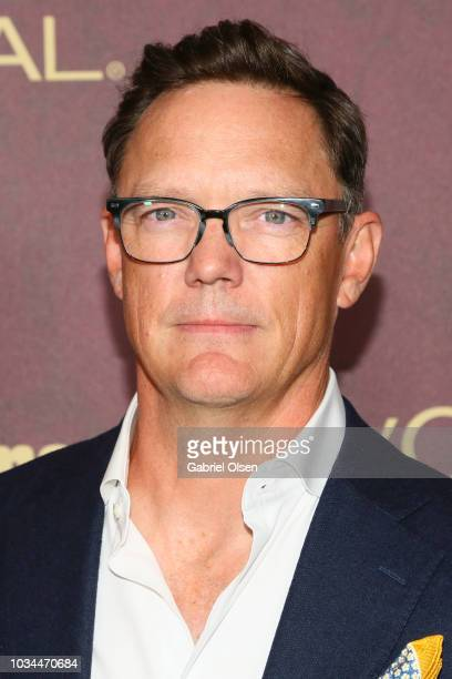 Matthew Lillard arrives to the 2018 Entertainment Weekly PreEmmy Party at Sunset Tower Hotel on September 15 2018 in West Hollywood California