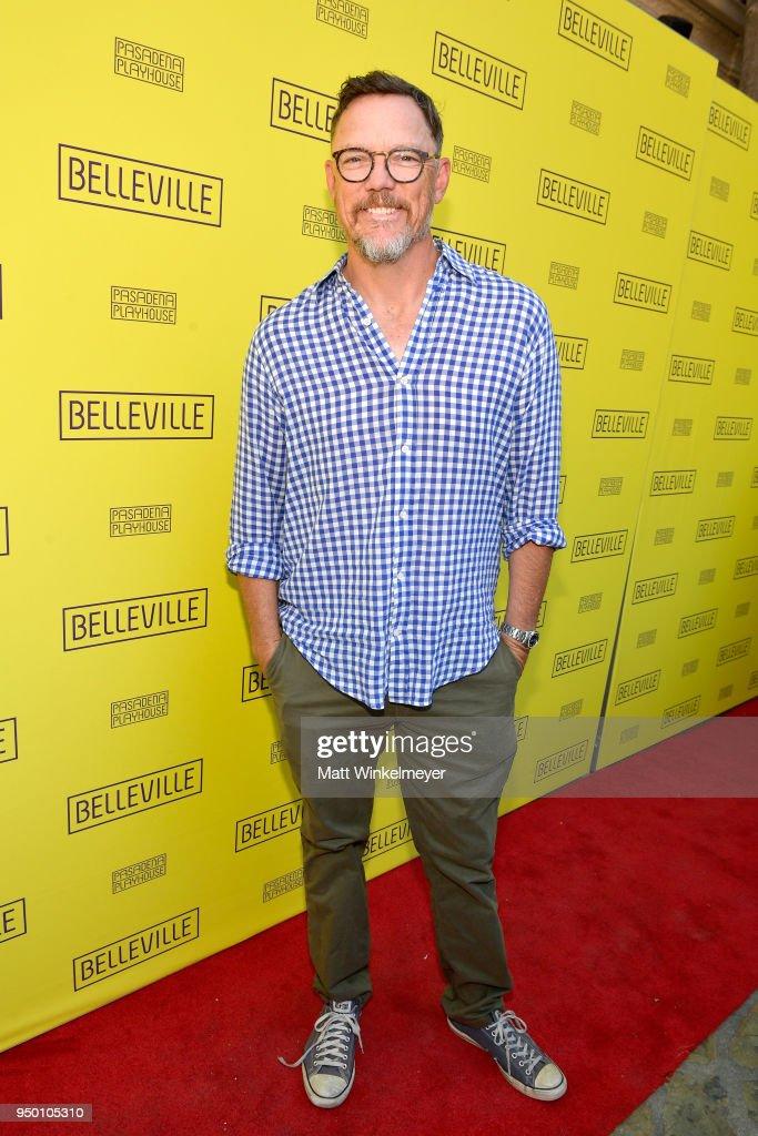 Matthew Lillard attends the Opening Night Of 'Belleville,' presented by Pasadena Playhouse on April 22, 2018 in Pasadena, California.