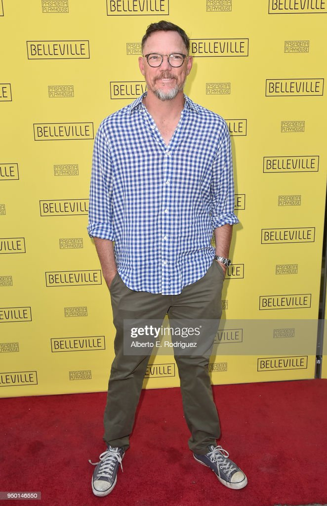 Matthew Lillard attends the Pasadena Playhouse Presents Opening Night Of 'Belleville' at Pasadena Playhouse on April 22, 2018 in Pasadena, California.