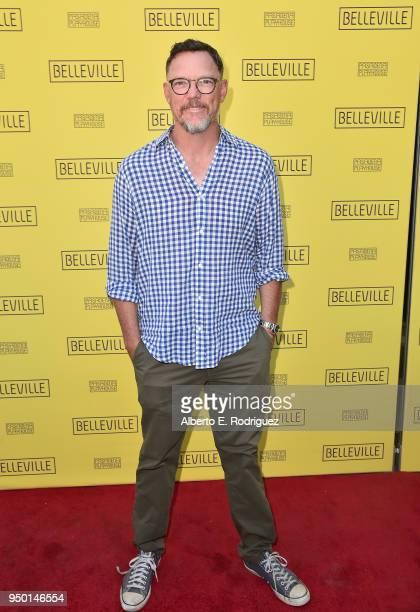 Matthew Lillard attends the Pasadena Playhouse Presents Opening Night Of 'Belleville' at Pasadena Playhouse on April 22 2018 in Pasadena California