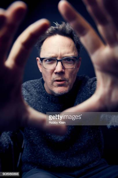 Matthew Lillard from the film 'Halfway There' poses for a portrait at the YouTube x Getty Images Portrait Studio at 2018 Sundance Film Festival on...