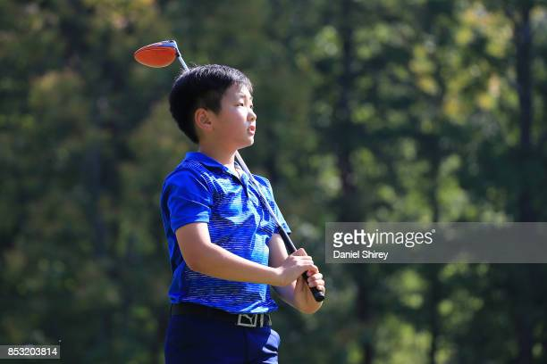 Matthew Lim during the Drive Chip and Putt Championship at The Honors Course on September 24 2017 in Ooltewah Tennessee