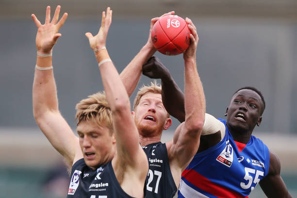 AUS: VFL Rd 11 - Northern Blues v Footscray