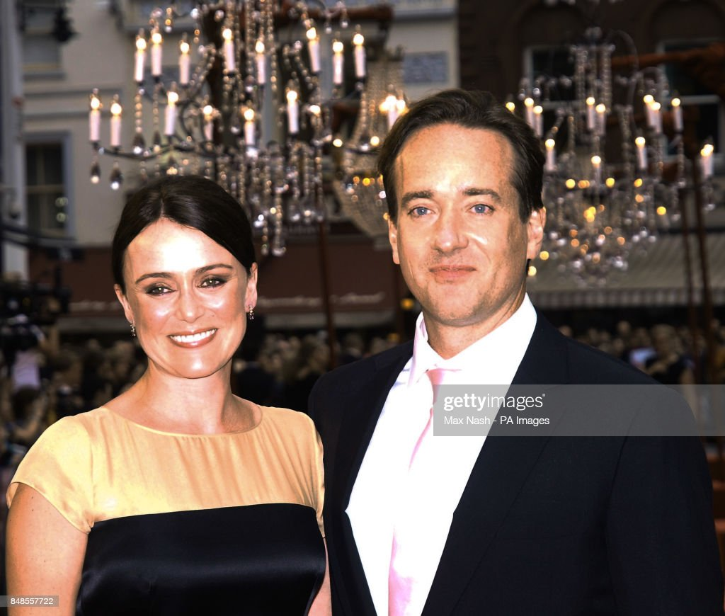 Matthew Macfadyen and his wife Keeley Hawes arriving for ...