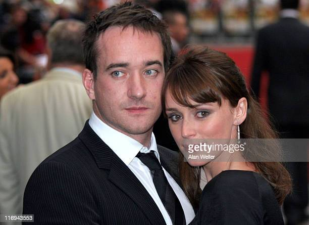 Matthew MacFadyen and Keeley Hawes during Pride and Prejudice London Premiere at Odeon Leicester Square in London Great Britain