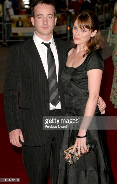 Matthew Macfadyen and Keeley Hawes during Pride Prejudice London Premiere at Odeon Leicester Square in London Great Britain