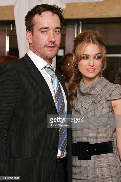 Matthew MacFadyen and Keira Knightley during 2005 Toronto Film Festival Pride and Prejudice Premiere at Roy Thompson Hall in Toronto Canada
