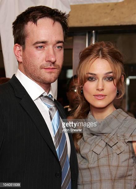 Matthew MacFadyen and Keira Knightley