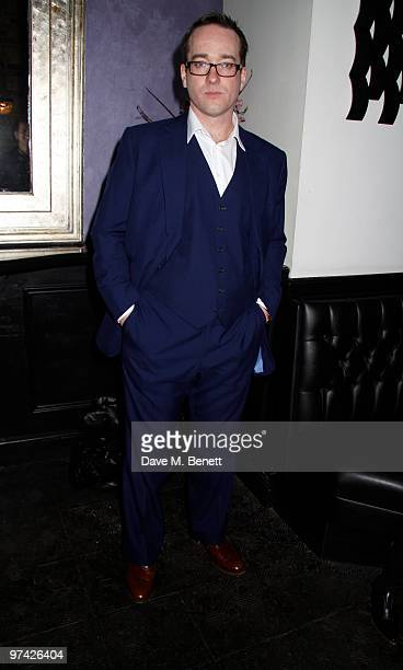 Matthew Macfadyen and other celebrities attend the Private Lives press night after party at Jewell bar London on March 03 2010
