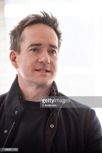 Matthew Macfadyen at the Succession Set Visit on April 02 2019 in New York City