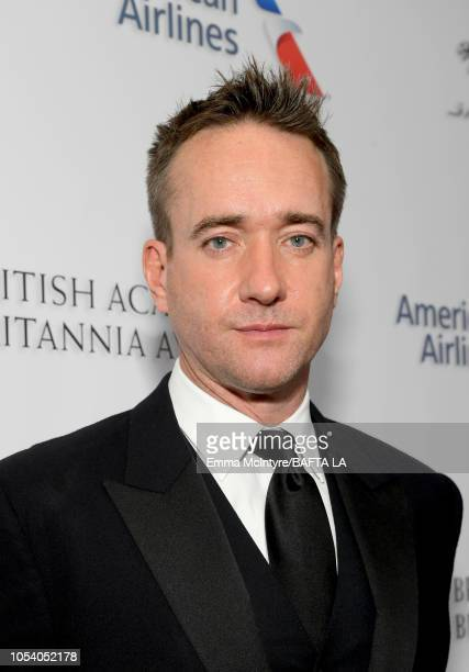 Matthew Macfadyen attends the 2018 British Academy Britannia Awards presented by Jaguar Land Rover and American Airlines at The Beverly Hilton Hotel...