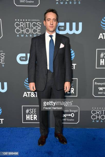 Matthew Macfadyen attends the 24th annual Critics' Choice Awards at Barker Hangar on January 13 2019 in Santa Monica California