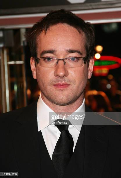 Matthew Macfadyen attends the World Premiere of 'Frost/Nixon' at the Opening Night Gala of the Times BFI 52nd London Film Festival at the Odeon...
