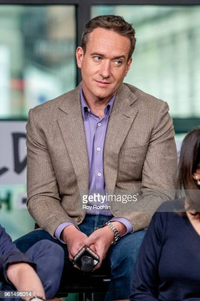 Matthew Macfadyen discusses Succession with the Build Series at Build Studio on May 22 2018 in New York City