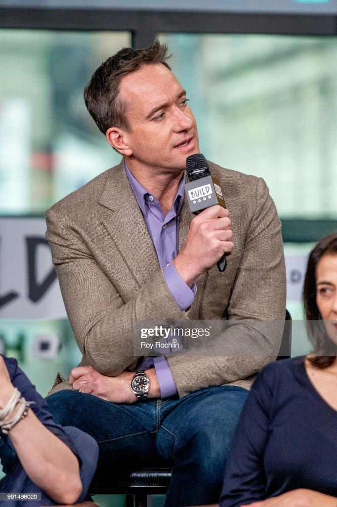 Celebrities Visit Build - May 22, 2018 : ニュース写真