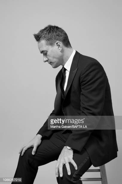 Matthew MacFadyen poses in the portrait studio at the 2018 British Academy Britannia Awards at The Beverly Hilton Hotel on October 26 2018 in Beverly...