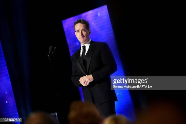 Matthew Macfadyen presents the Britannia Ward for Excellence in Television at the 2018 British Academy Britannia Awards presented by Jaguar Land...