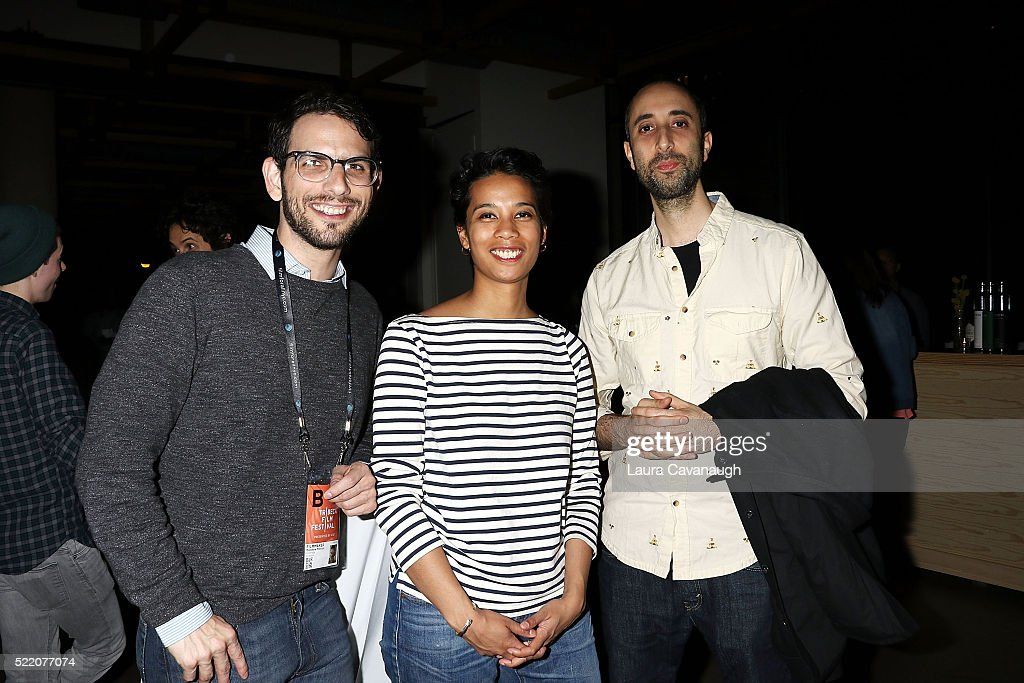 Matthew Manson, Christine Turner and Daniel Sole attend Shorts Filmmakers Party - 2016 Tribeca Film Festival at Eventi Hotel on April 17, 2016 in New York City.