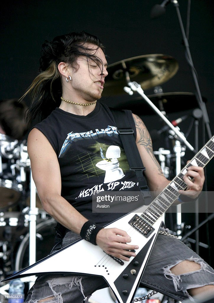 Matthew U0027Mattu0027 Tuck Frontman U0026 Guitarist From Bullet For My Valentine  Performing Live At