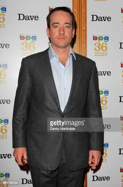 Matthew McCfayden attends the Broadcasting Press Guild TV Radio Awards at Theatre Royal on March 26 2010 in London England