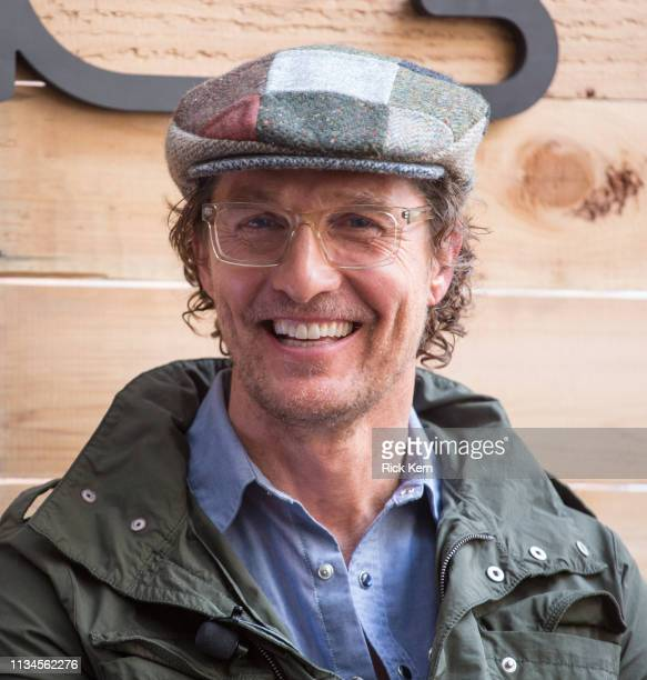 Matthew McConaughey Academy Award–Winning Actor and Founder just keep livin Foundation attends the Fast Company Grill on March 08 2019 in Austin Texas