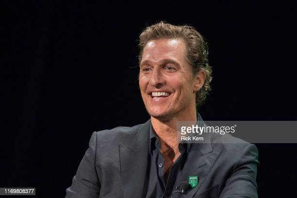 Matthew McConaughey Academy Awardwinning actor attends the Austin FC Major League Soccer club announcement of four new investors including himself as...