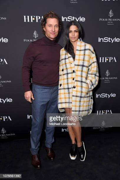 Matthew McConaughey and Camila Alves attend The Hollywood Foreign Press Association and InStyle Party during 2018 Toronto International Film Festival...