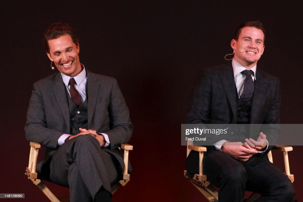 Meet the filmmaker channing tatum for magic mike photos and images matthew mcconaughey and channing tatum promote their new film magic mike at apple store m4hsunfo