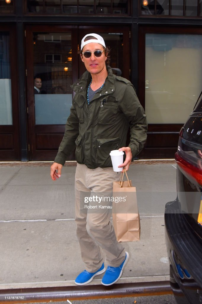 NY: Celebrity Sightings In New York City - April 18, 2019