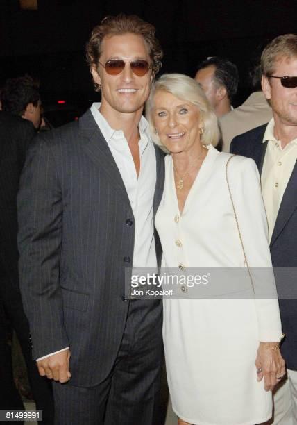 Matthew McConaughey and mom