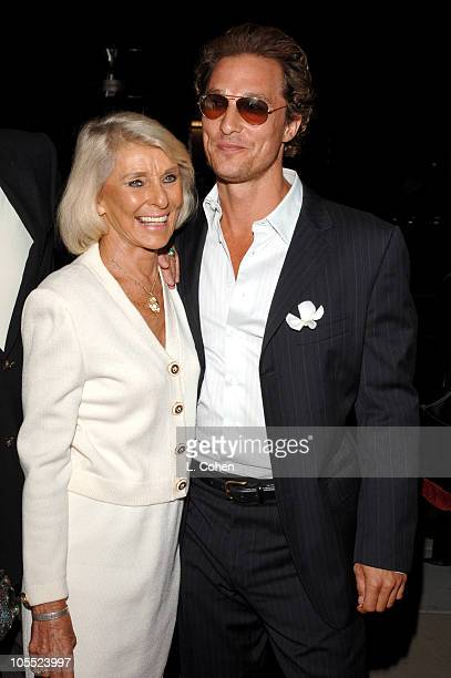 Matthew McConaughey and mother Kay McConaughey during Two for the Money World Premiere CoPresented By Bodogcom Red Carpet at Samuel Goldwyn Theater...