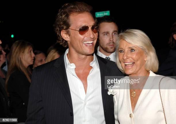 Matthew McConaughey and mother Kay McConaughey