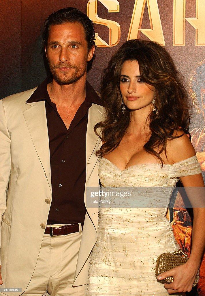 Matthew McConaughey dating Penelope Cruz