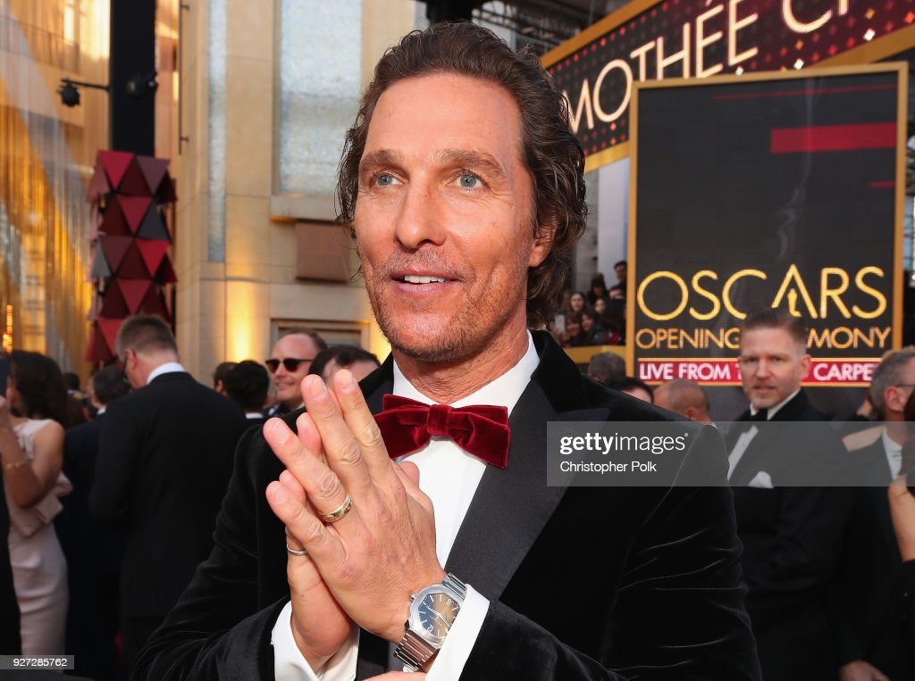 Matthew McConaughey attends the 90th Annual Academy Awards at Hollywood & Highland Center on March 4, 2018 in Hollywood, California.