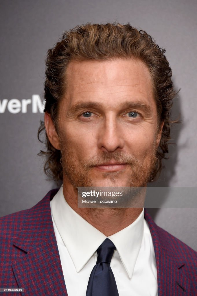 Matthew McConaughey attends 'The Dark Tower' New York Premiere on July 31, 2017 in New York City.