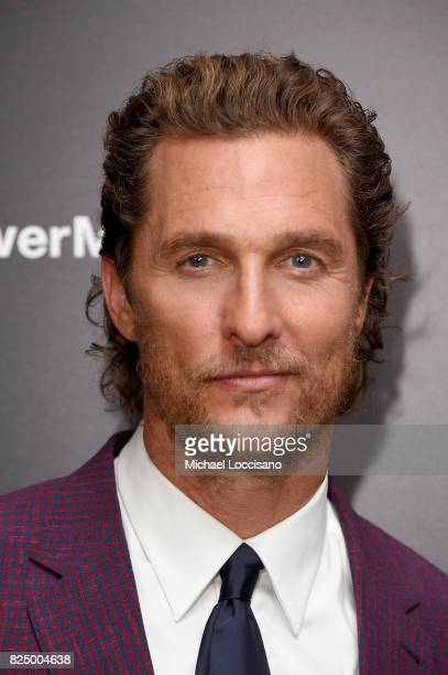 Matthew McConaughey attends The Dark Tower New York Premiere on July 31 2017 in New York City