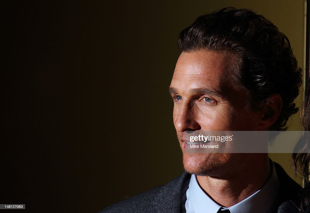 Matthew McConaughey attends the European premiere of 'Magic Mike' at The Mayfair Hotel on July 10, 2012 in London, England.