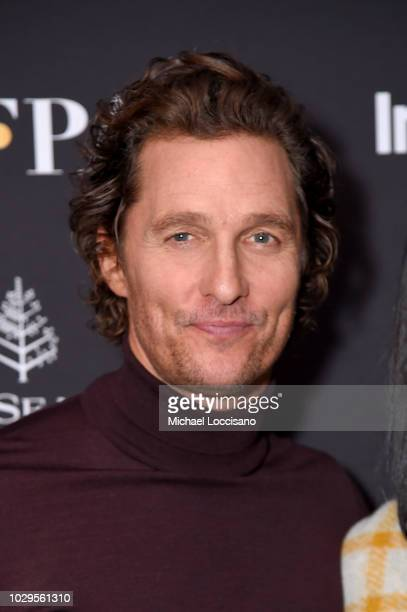 Matthew McConaughey attends The Hollywood Foreign Press Association and InStyle Party during 2018 Toronto International Film Festival at Four Seasons...