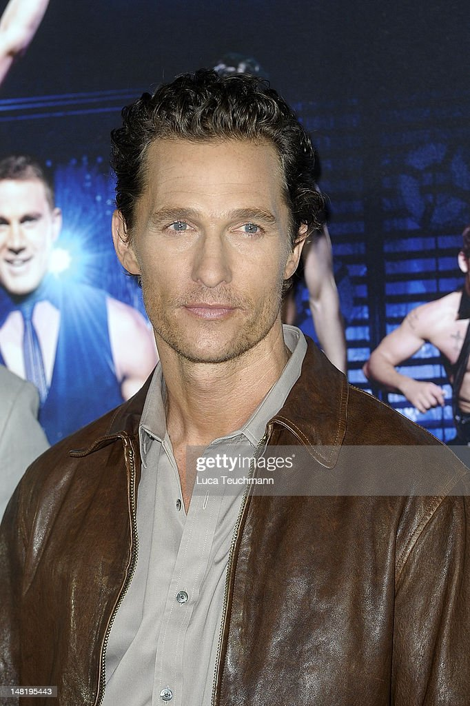 Matthew McConaughey attends the 'Magic Mike' photocall at Hotel De Rome on July 12, 2012 in Berlin, Germany.