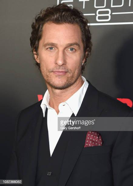 Matthew McConaughey attends the New York Special Screening of 'White Boy Rick' at the Paris Theater on September 12 2018 in New York City