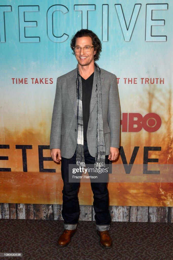 "Premiere Of HBO's ""True Detective"" Season 3 - Arrivals : News Photo"