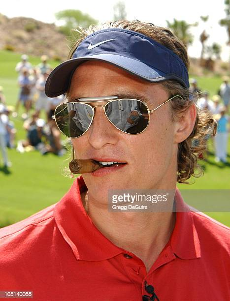 Matthew McConaughey during 5th Annual Michael Douglas And Friends Celebrity Golf Tournament Presented By Lexus and Izod To Benefit The Motion Picture...