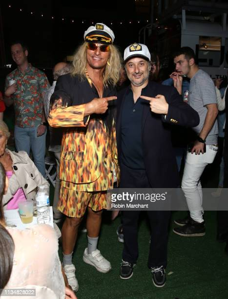"Matthew McConaughey in character as 'Moondog' and Harmony Korine attend Vice Studios And Neon Present ""The Beach Bum"" SXSW World Premiere After Party..."