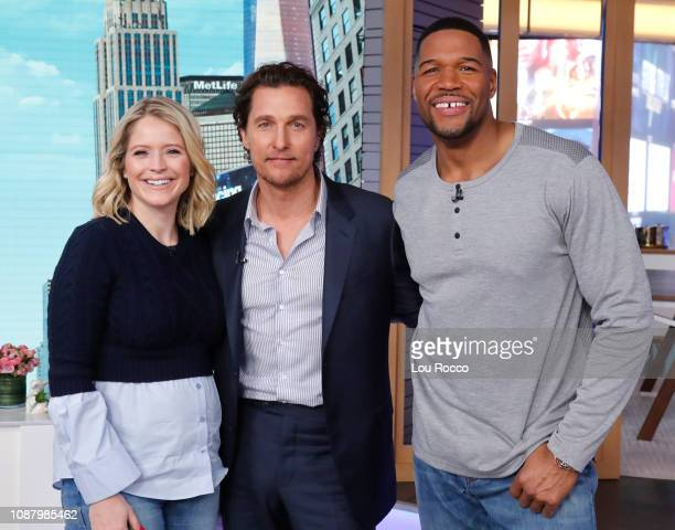 GMA DAY Matthew McConaughey is a guest on GMA DAY Thursday January 24 2019 GMA Day airs MondayFriday on the Walt Disney Television via Getty Images...